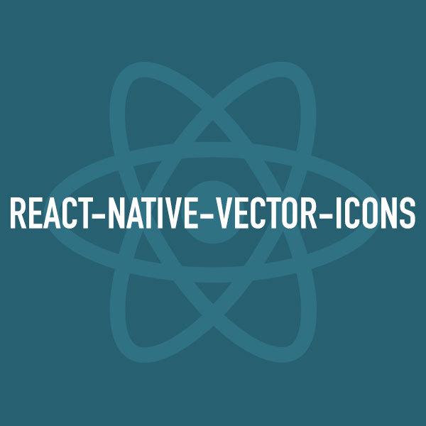 Reactnativevectoricons