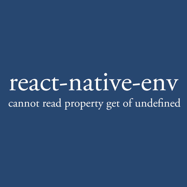 Reactnativeenv